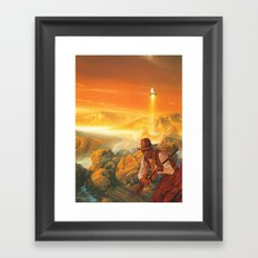 The Wild West Guide To The Galaxy # 180 Framed Art Print