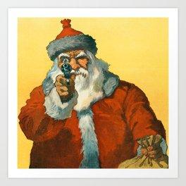 Santa Clous Art Print