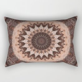 Mandala chocolate Rectangular Pillow