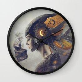 Angelus Mortis Wall Clock