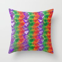 candy Throw Pillows featuring Candy  by Watch House Design