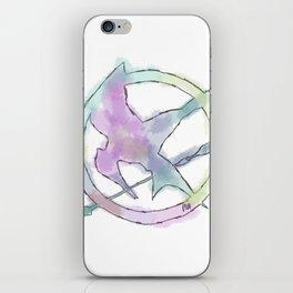 Mockingjay Watercolors iPhone Skin