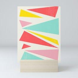 Shattered Waves Mini Art Print