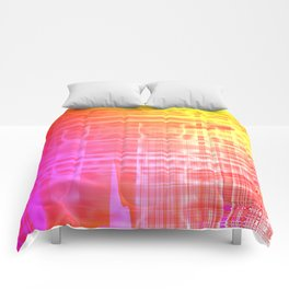 Colorful Abstract Comforters