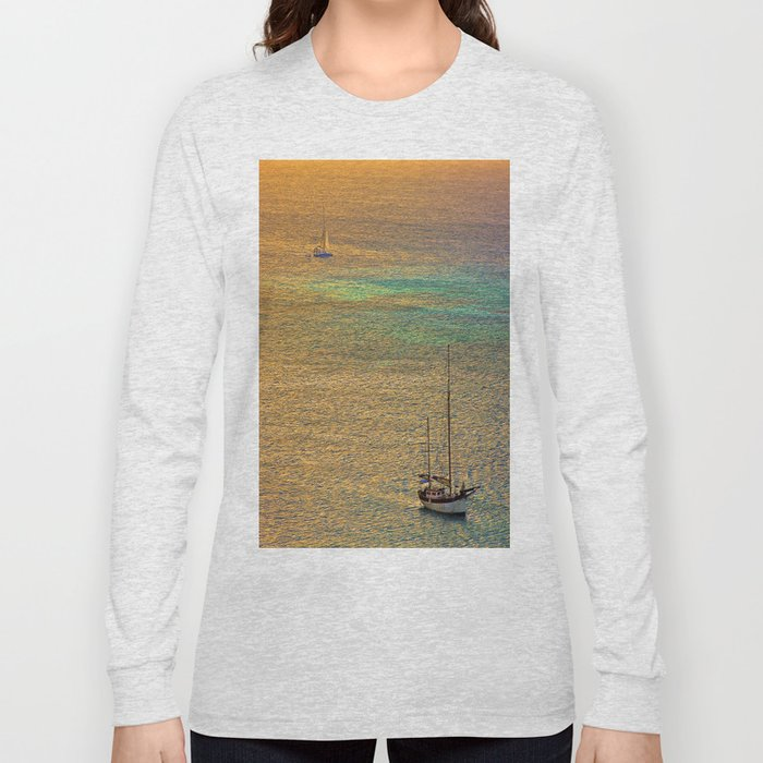 Sailing From the Sunset Long Sleeve T-shirt