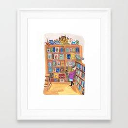 Books of Wonder Framed Art Print