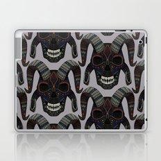 demon skull heather Laptop & iPad Skin