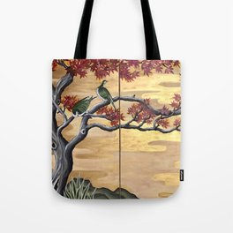 Japanese Fall Leaves Tote Bag