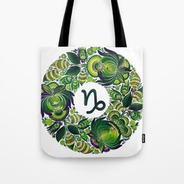 Capricorn in Petrykivka (without artist's signature/date) Tote Bag