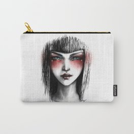 The White Lady Carry-All Pouch