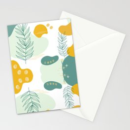 Pastel Pop in Mustard Yellow Stationery Cards