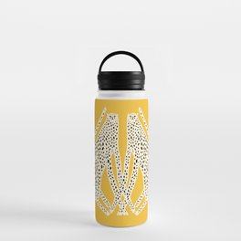 Snow Cheetahs Water Bottle