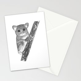 Tarsiers Stationery Cards