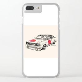 Crazy Car Art 0180 Clear iPhone Case