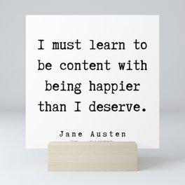 18     | Jane Austen Quotes | 190722 Mini Art Print