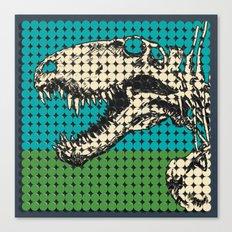 Dimetrodon Skeleton Canvas Print