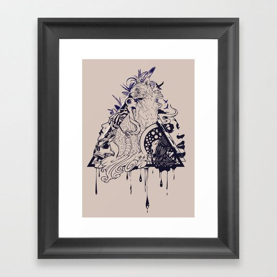 Playful Mind Framed Art Print