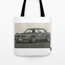 Nissan Hakosuka Skyline Tote Bag