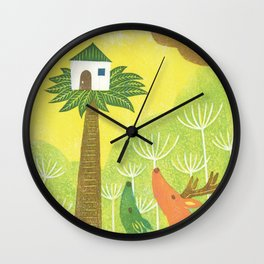 Our Neighbor Wall Clock