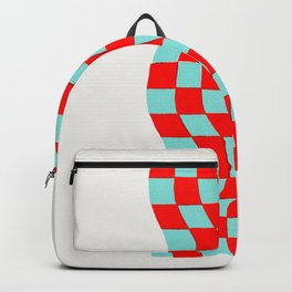 Checkered Table Cloth (in 3D) Backpack