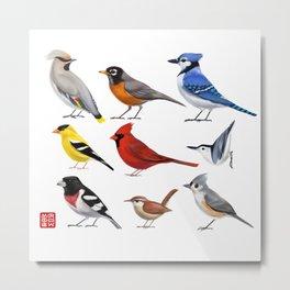 Year of the Bird II. Metal Print