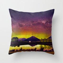 Aurora Australis Throw Pillow