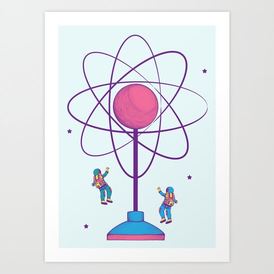 The Science of Play Art Print