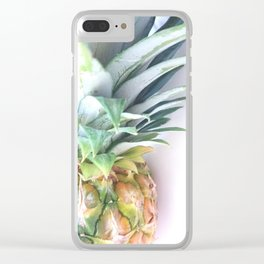 fresh pineapple Clear iPhone Case
