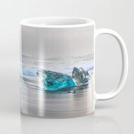 """""""Diamonds Are Forever"""" - Diamond Beach, Iceland Coffee Mug"""