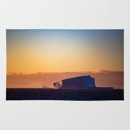 Sunset Iceberg Rug