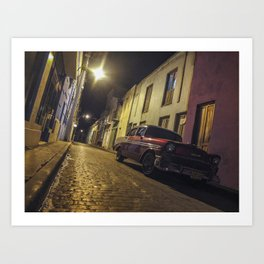 Havana Streets Art Print