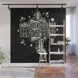 The F* Dungeon Master Wall Mural