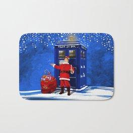 10th Doctor who Santa claus Bath Mat