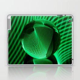 Green in the glass ball Laptop & iPad Skin