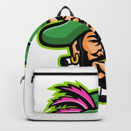 Minstrel Mascot Backpack