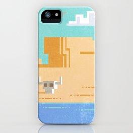 Pixel desert iPhone Case