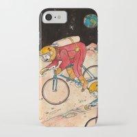 lunar iPhone & iPod Cases featuring Lunar Keirin by Juan Weiss