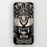 bioworkz iPhone & iPod Skins featuring Eye of the Tiger by BIOWORKZ