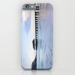 Hanalei Bay Pier at Sunrise iPhone Case