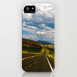 Tilted Road Trip iPhone Case