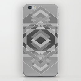 Southwest Geo - BW iPhone Skin