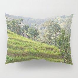 PEACEFUL TERRACED HILLS OF NEPAL Pillow Sham