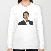 napoleon Long Sleeve T-shirts featuring Napoleon Solo by Grace Teaney Art