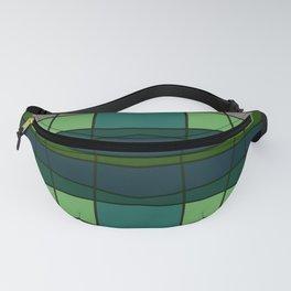 Green Pattern Turtle Fanny Pack