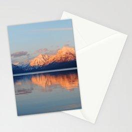 Alpenglow at Lake McDonald Stationery Cards