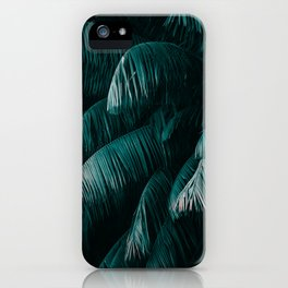 Palm Tree Leaves I iPhone Case