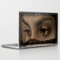 oriental Laptop & iPad Skins featuring Oriental by Hellen Rose