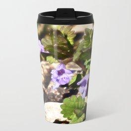 Ground Ivy 03 Metal Travel Mug