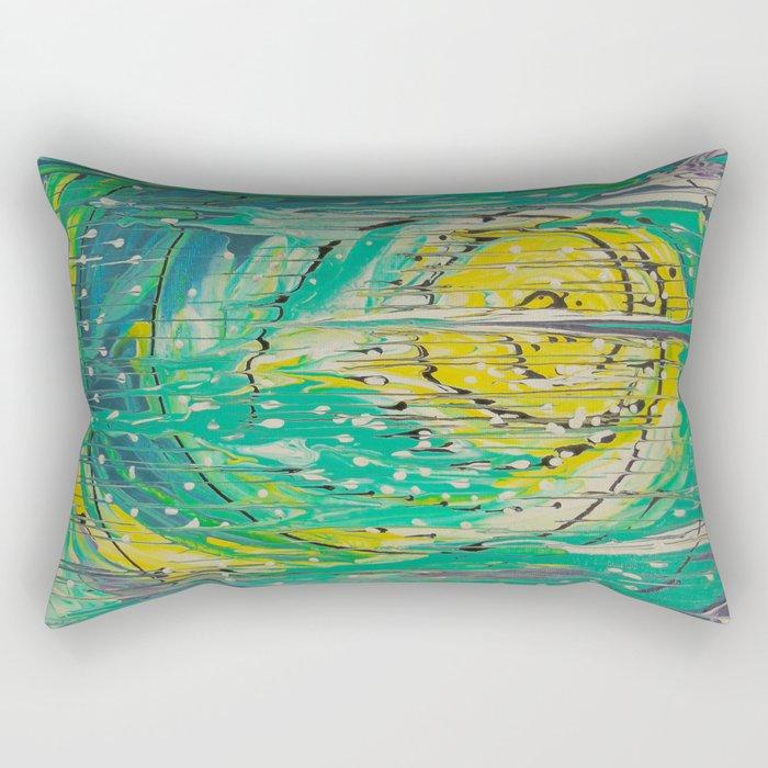 Free abstract Rectangular Pillow