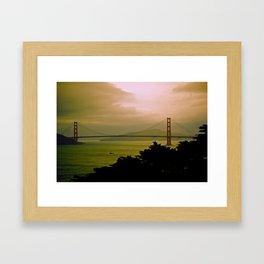Through the Fog Framed Art Print